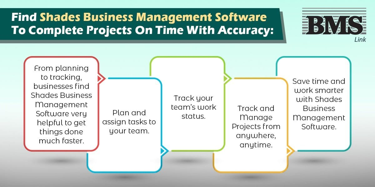 Find Shades Business Management Software To Complete Projects On Time With Accuracy  Find Shades Business Management Software To Complete Projects On Time With Accuracy Find Shades Business Management Software