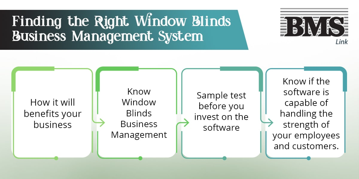 You need to ask the right questions to get started. Ask about the software's capabilities, features, and how it will benefit your business.  Finding the right Window Blinds Business Management System 04a